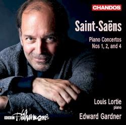 Piano Concertos nos. 1, 2 and 4 by Saint‐Saëns ;   Louis Lortie ,   BBC Philharmonic ,   Edward Gardner